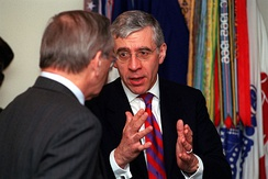 Jack Straw, former UK Foreign Secretary