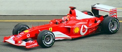 Ferrari won the 2003 FIA Formula One World Championship for Constructors