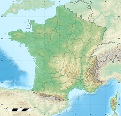 location in Aquitaine and France