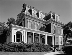 Dodge's house in Council Bluffs, Iowa