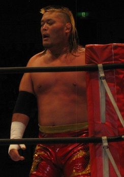 Tenzan in June 2014.