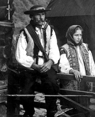 Hutsuls, living in Verkhovyna, c. 1930
