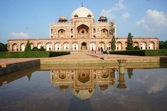 Humayun's Tomb, Delhi, the first fully developed Mughal imperial tomb, 1569-70 CE