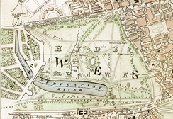 "Hyde Park c. 1833: Rotten Row is ""The King's Private Road"""