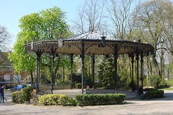 The bandstand is one of the oldest in France