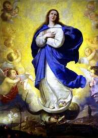 The Blessed Virgin Mary is highly regarded in the Catholic Church, proclaiming her as Mother of God, free from original sin and an intercessor.