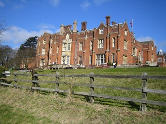 Latimer House in Buckinghamshire; an English country house