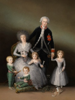 Старинная семья (картина Франсиско Гойя)