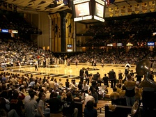 Vanderbilt's basketball teams play in Memorial Gymnasium.