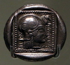 Coin from Methymna (500-480 BC)