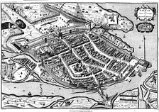 Galway; the last Irish town to fall to the Parliamentarians, in 1652.