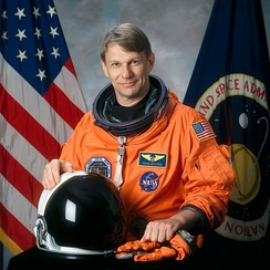 Piers Sellers, veteran of three space shuttle missions