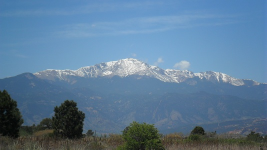 Pikes Peak in Colorado was the inspiration for America the Beautiful.