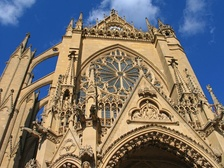 St. Etienne's Cathedral in Metz, where Bossuet was made a canon at age 13 in 1640