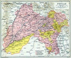 British Punjab Province, in 1909