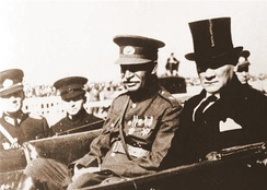 Reza Shah and Atatürk in Turkey.