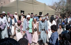 Dance in Sa'dah, northwestern Yemen