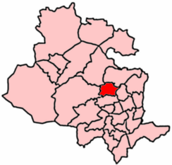 2004 Boundaries of Shipley Ward.