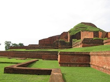 Somapura Mahavihara is a World Heritage Site at Naogaon