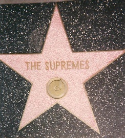 In 1994, the Supremes were recognized with a star on Hollywood Walk of Fame at 7060 Hollywood Blvd. Apart from this star, Diana Ross has one for her individual work.