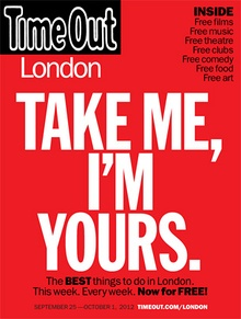 Time Out London Magazine free publication launch cover.jpg