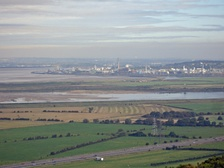 Ineos ChlorVinyls at Runcorn in 2006; the UK chemicals industry is worth £57bn, with 180,000 people in around 3,000 companies