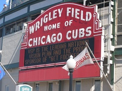 Wrigley Field and the Cubs play host to the rival St. Louis Cardinals 3-4 times a season