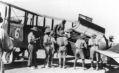The British used air power extensively during the interwar period to police areas in the Middle East.