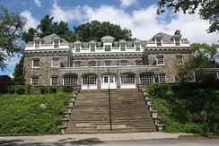 The Zeta Psi chapter house at Lafayette College