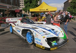 Monster Tajima Electric Car displayed during 2013 PPIHC Fan Fest at Colorado Springs, USA