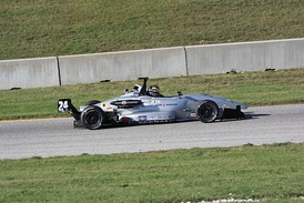 Porante after winning the 2013 SCCA National Championship Runoffs.