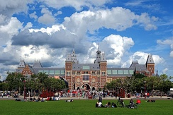 The Rijksmuseum houses Rembrandt's The Night Watch.