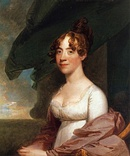 Anna Payne Cutts, sister of First Lady Dolley Madison, 1804, The White House