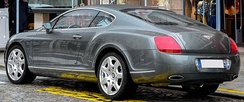 Bentley Continental GT (France)