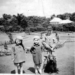 Fig.8 Broomfields children in Bowling Park c1950