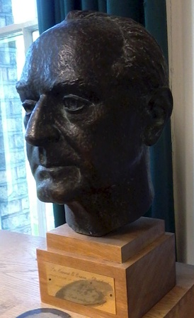 Bust of E. E. Evans-Pritchard in the Social and Cultural Anthropology Library, Oxford