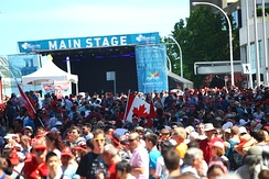 Canada Day is celebrated on July 1