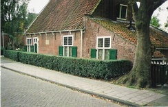 Spinoza's house in Rijnsburg from 1661 to 1663, now a museum