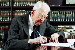 Nobel laureate Ronald Coase taught at the law school from 1964 to 2013