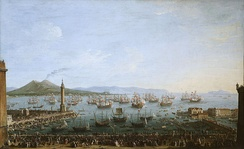 Departure of Charles from Naples, 1759