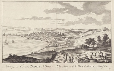 Dundee in 1693 by John Slezer.
