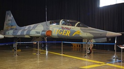F-5B in Royal Thai Air Force Museum, the world first F-5B from production line