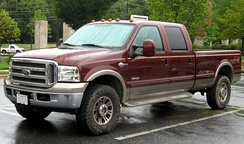 2005–2007 Ford F-350 King Ranch crew cab