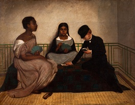The Three Races or Equality before the Law, ca. 1859, Francisco Laso