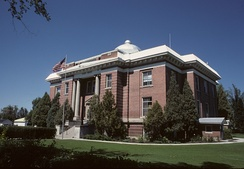 Fremont County Courthouse in Fremont County