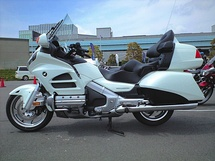 2012 Gold Wing GL1800 model for Japanese market, with windshield wiper