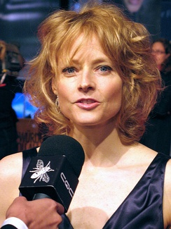 At the German premiere of The Brave One in 2007