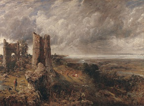 Hadleigh Castle (1829). Yale Center for British Art