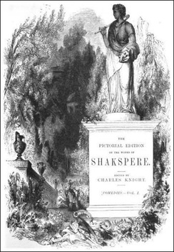 Title page of Knight's Pictorial Shakspere, 1867 edition.