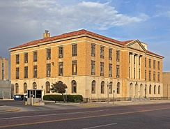 Lubbock Post Office and Federal Building, constructed in 1932.